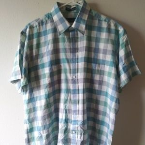 Editions by Van Heusen Gingham Button-Up Shirt